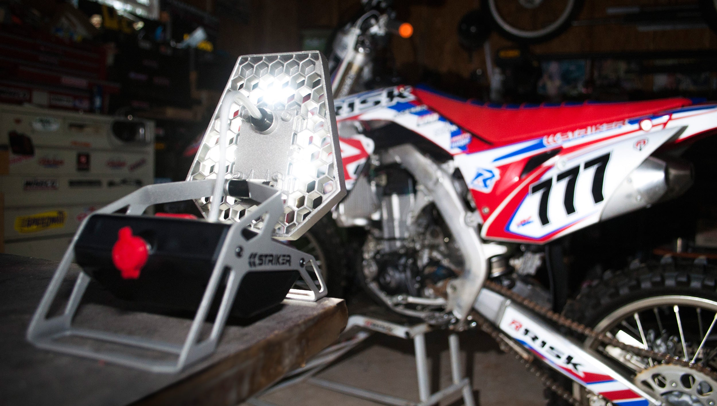 Striker ROVER for working on MX Bike