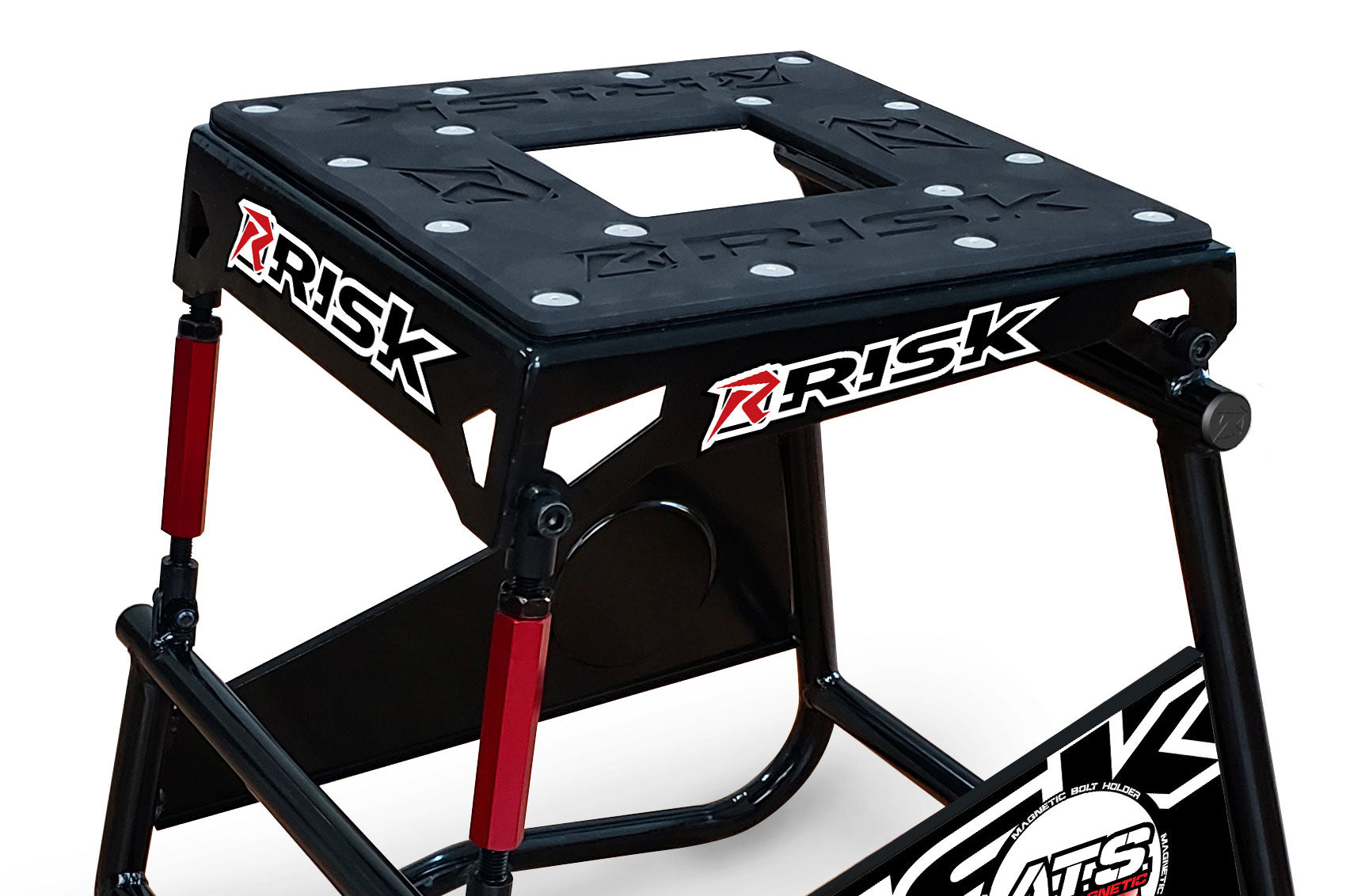 Risk Racing ATS Adjustable Top Moto Stand Detail