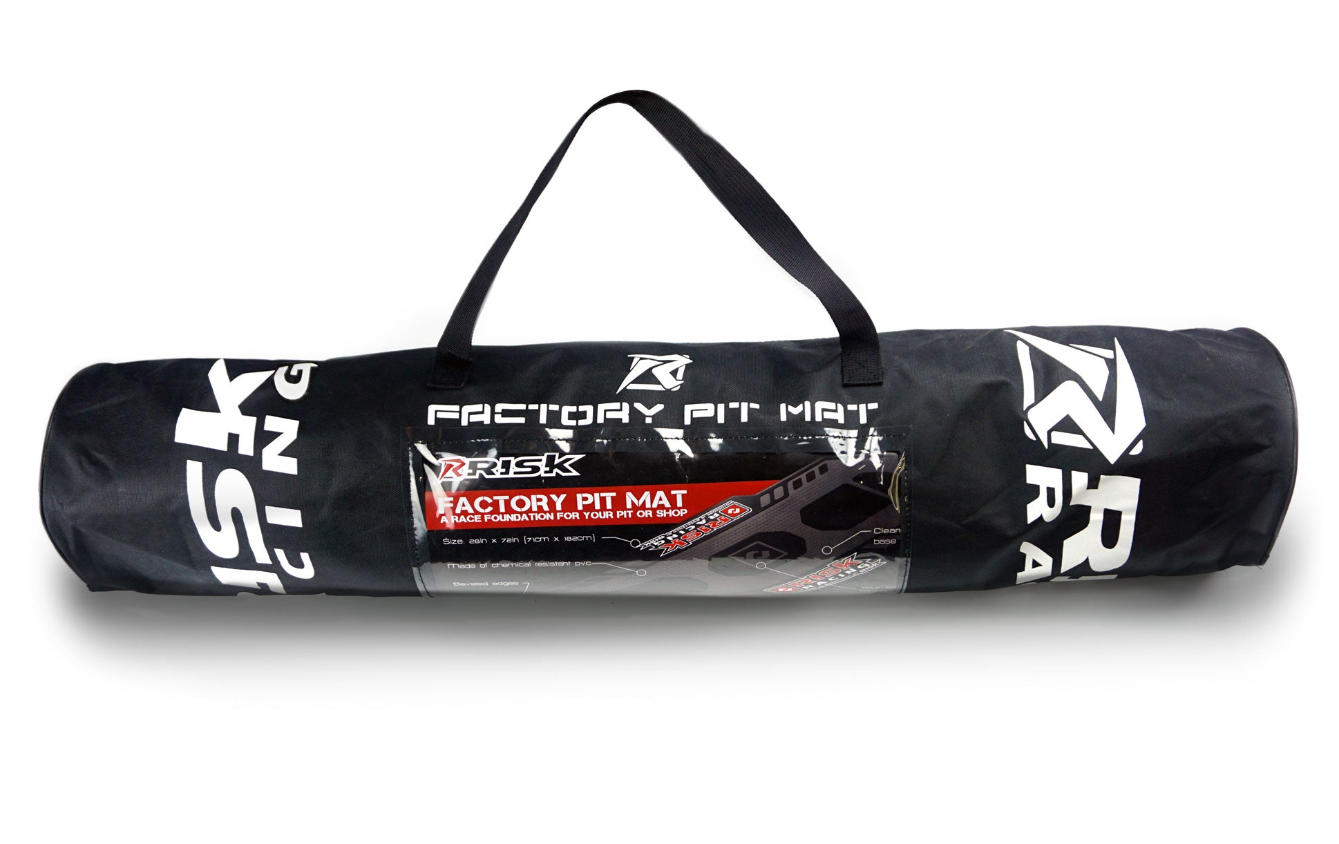 Risk Racing Factory Pit Mat Carrying Tote Bag