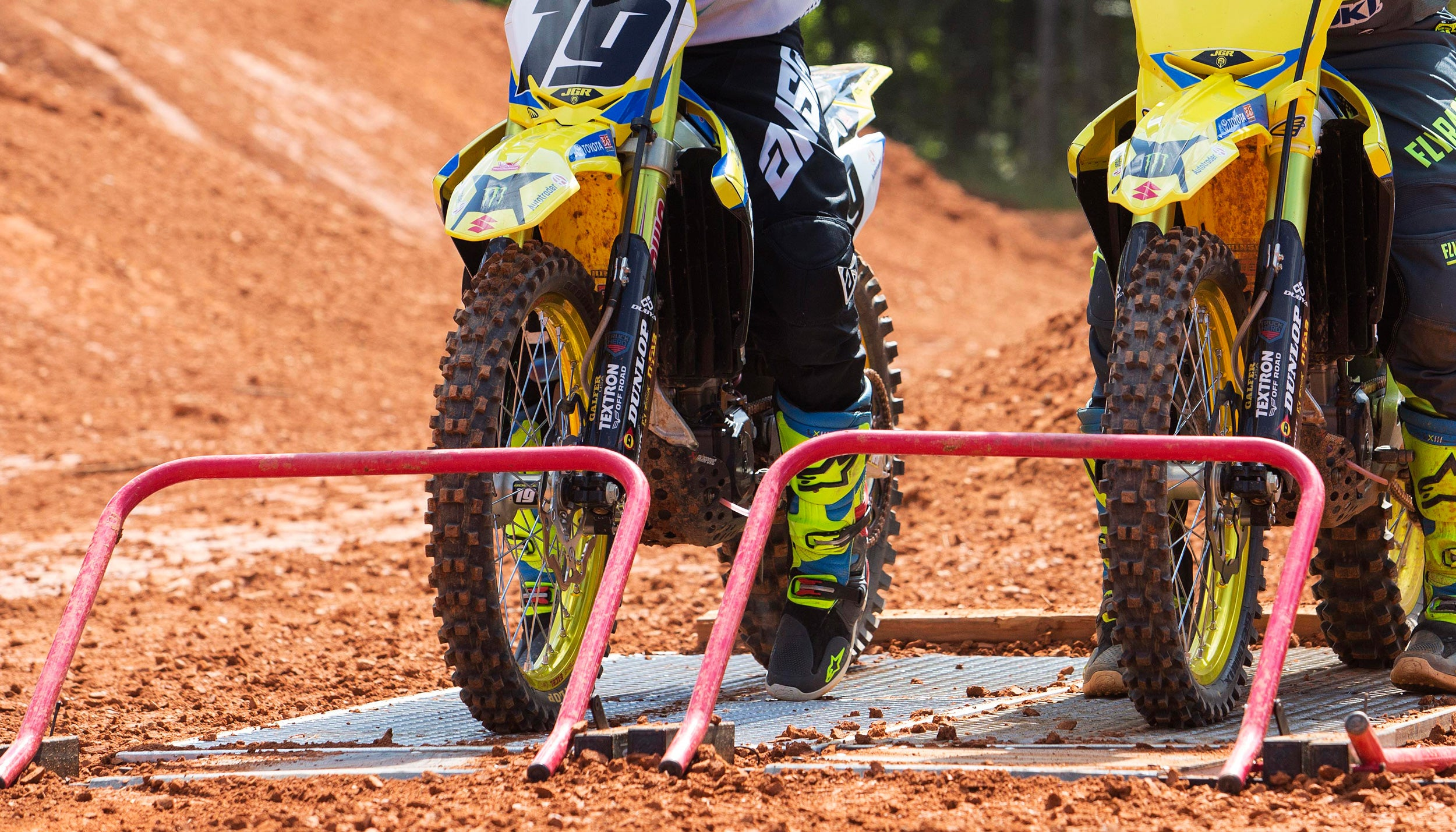 Holeshot Practice Start Gate