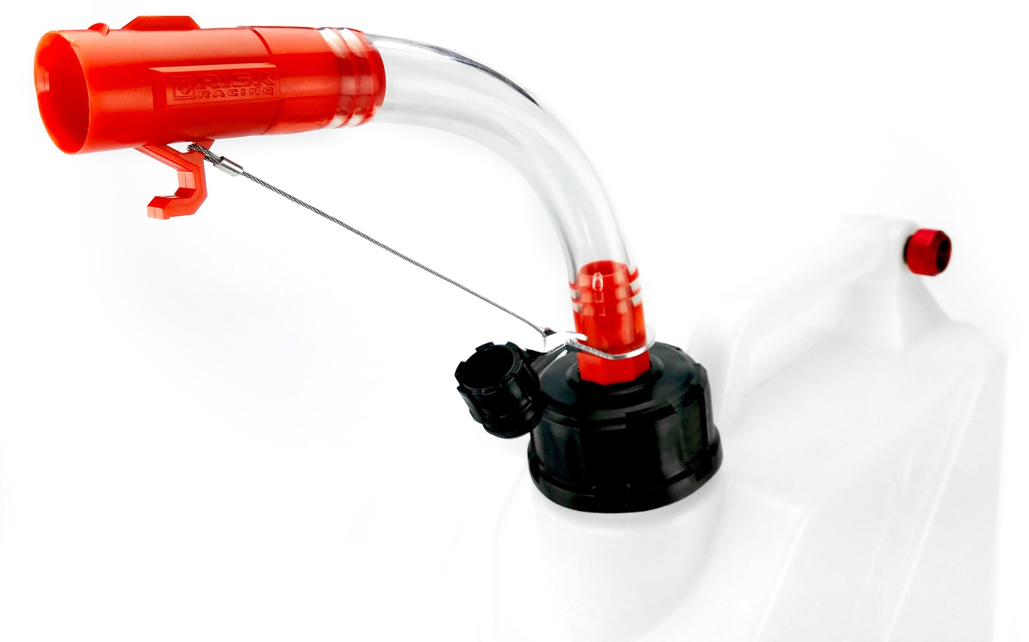 Hose Bender reduces spilling