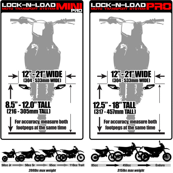 Lock-N-Load Pro Taille Guide