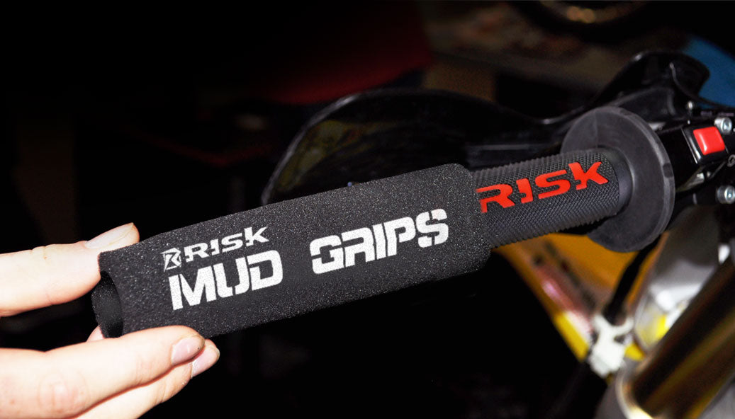 slide on Mud Grip over standard grips