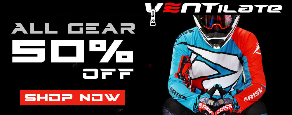 Risk Racing Ventilate Riding Gear - Durable MX riding gear that lasts