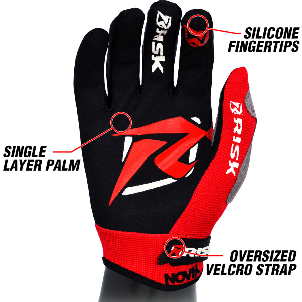 Risk Racing VENTilate gloves lightweight and durable