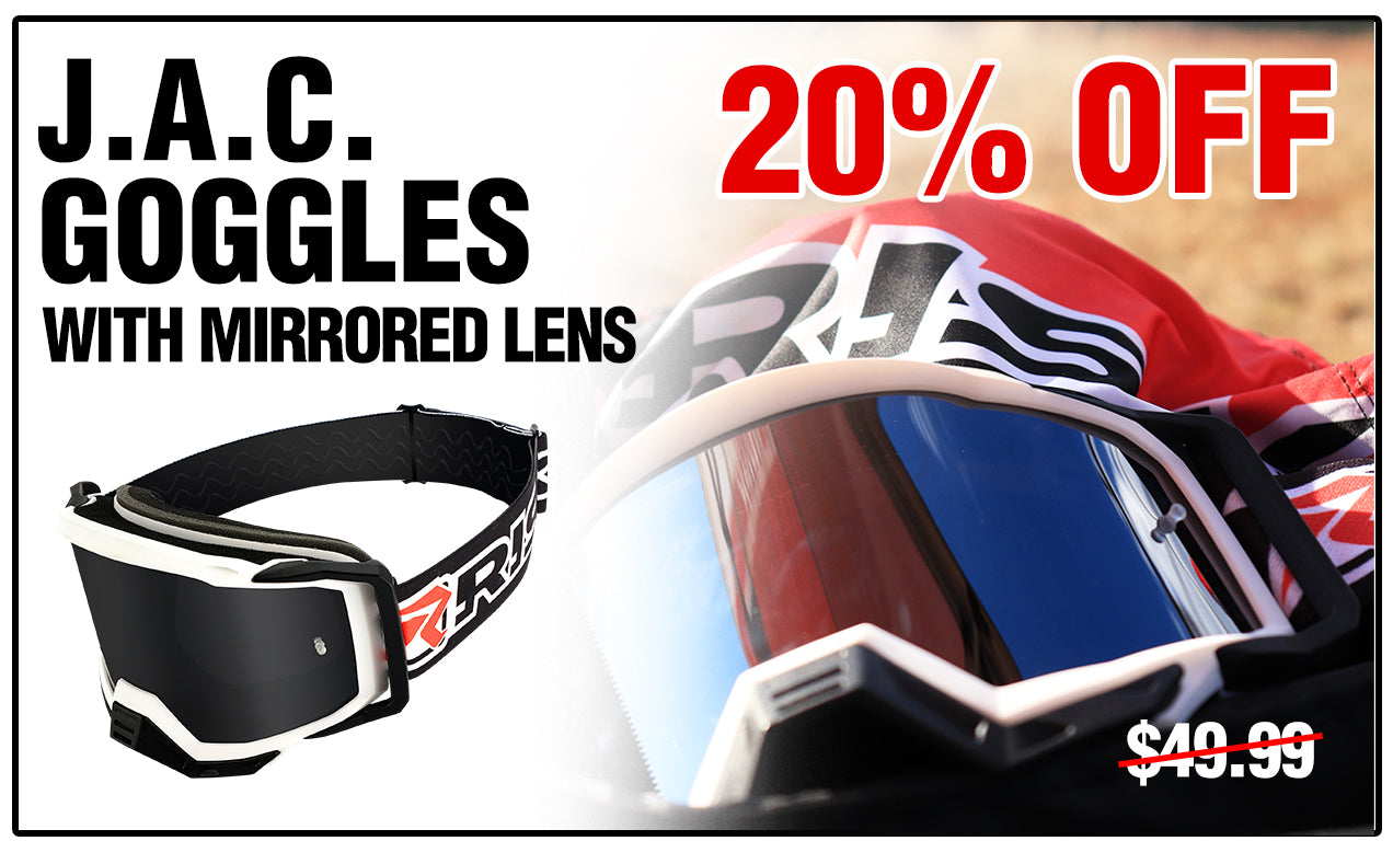 JAC MX Goggle by Risk Racing