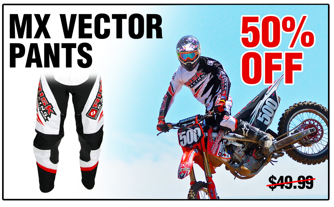 Vector MX pants by Risk Racing