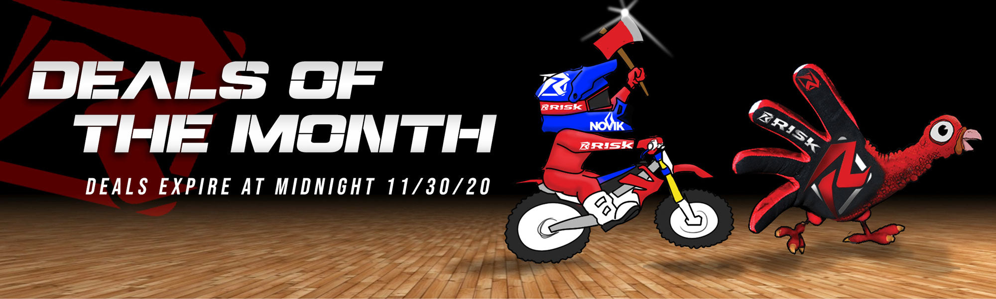 Risk Racing Deals of the Month