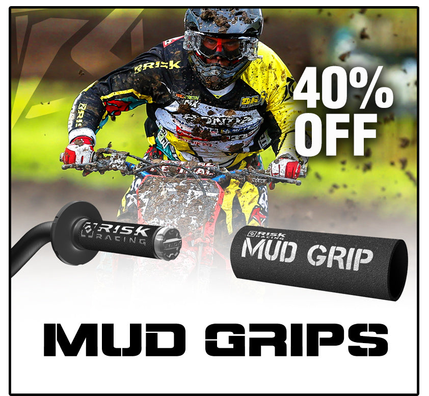 Risk Racing Deal of the Month - Mug Grips for Dirt bike/ATV/MTB