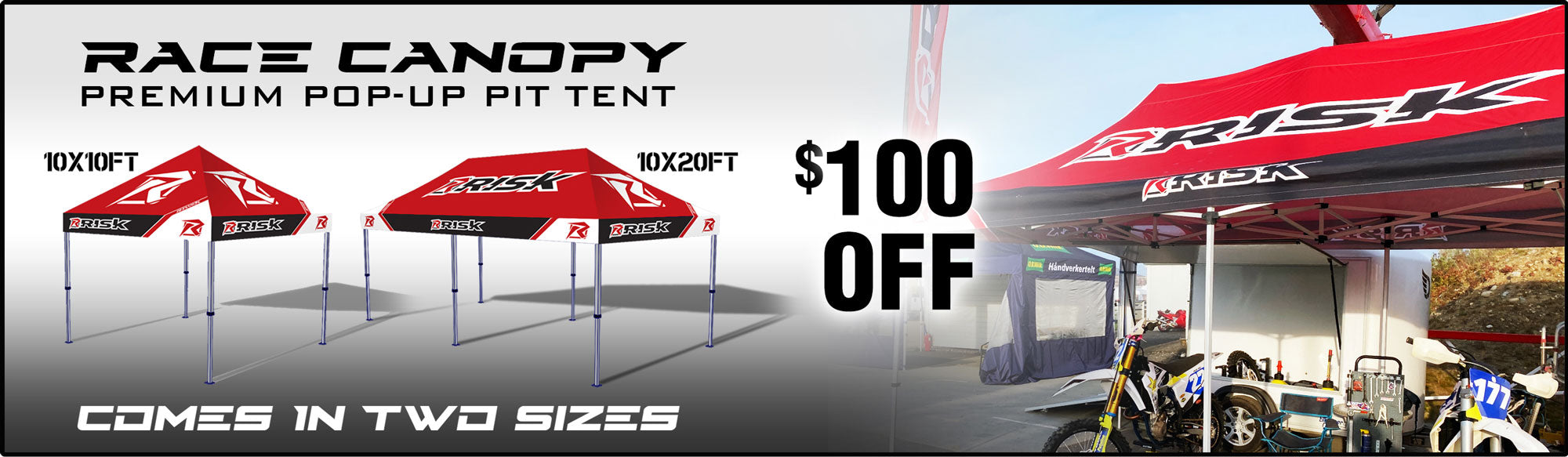 Risk Racing Premium Canopy Tents