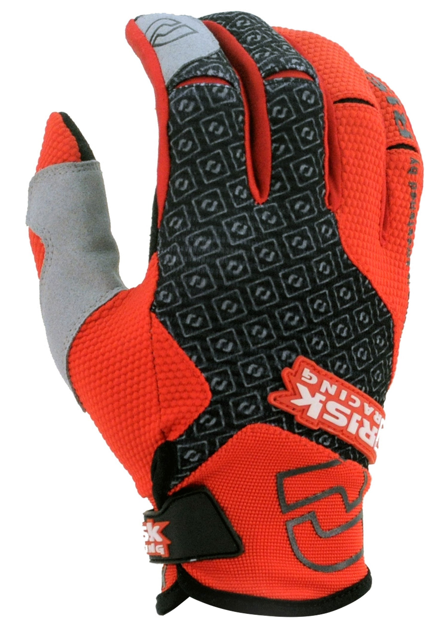 Carbide Black/Red Gloves