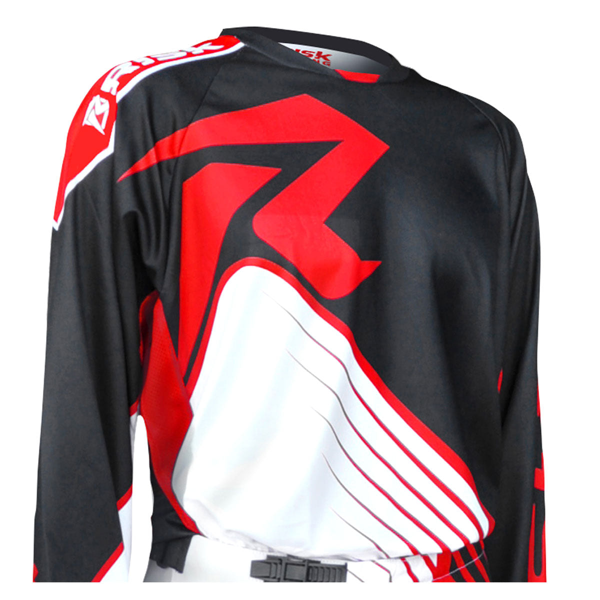 VENTilate Black/Red MX Jersey