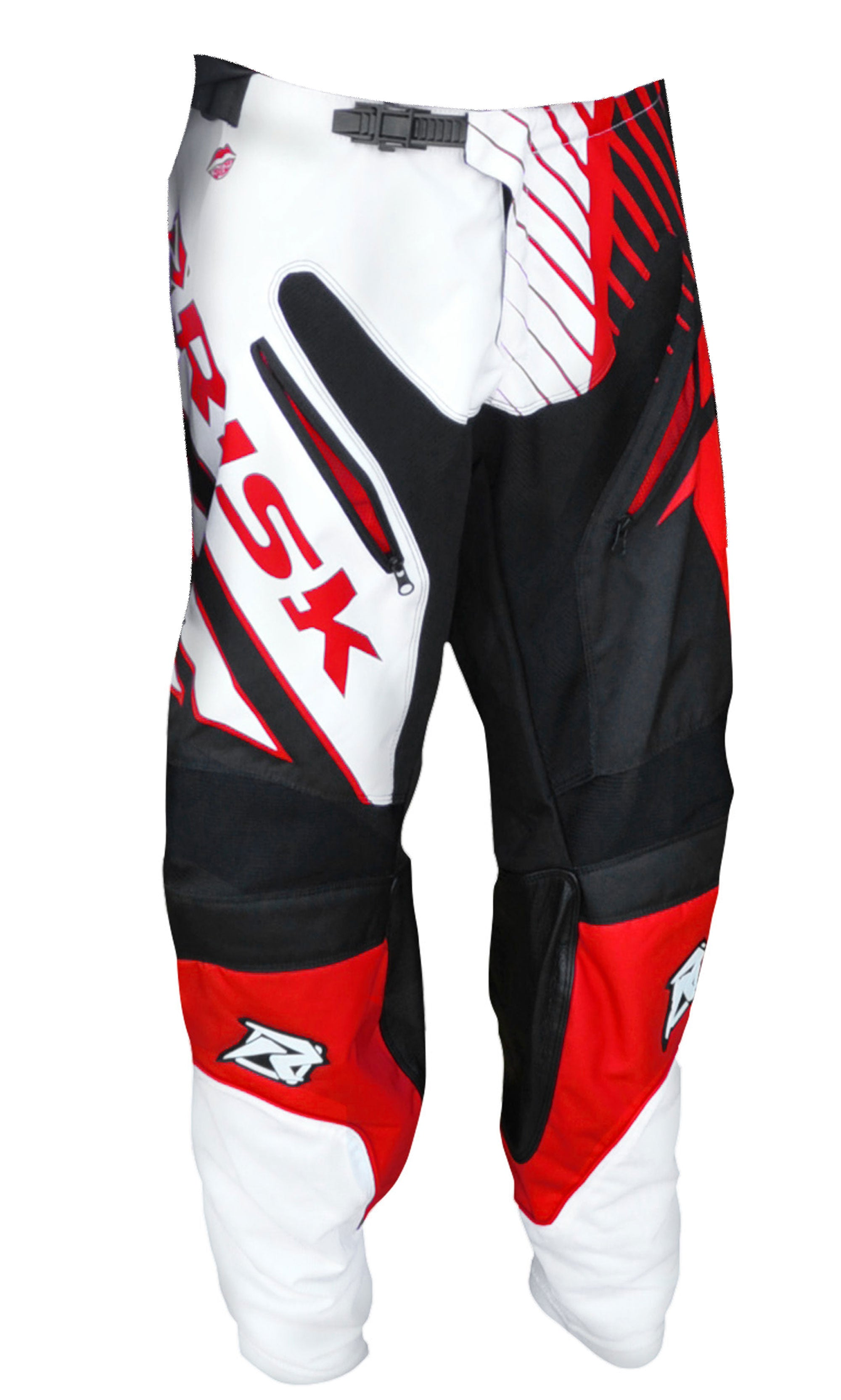 VENTilate Black/Red MX Pants