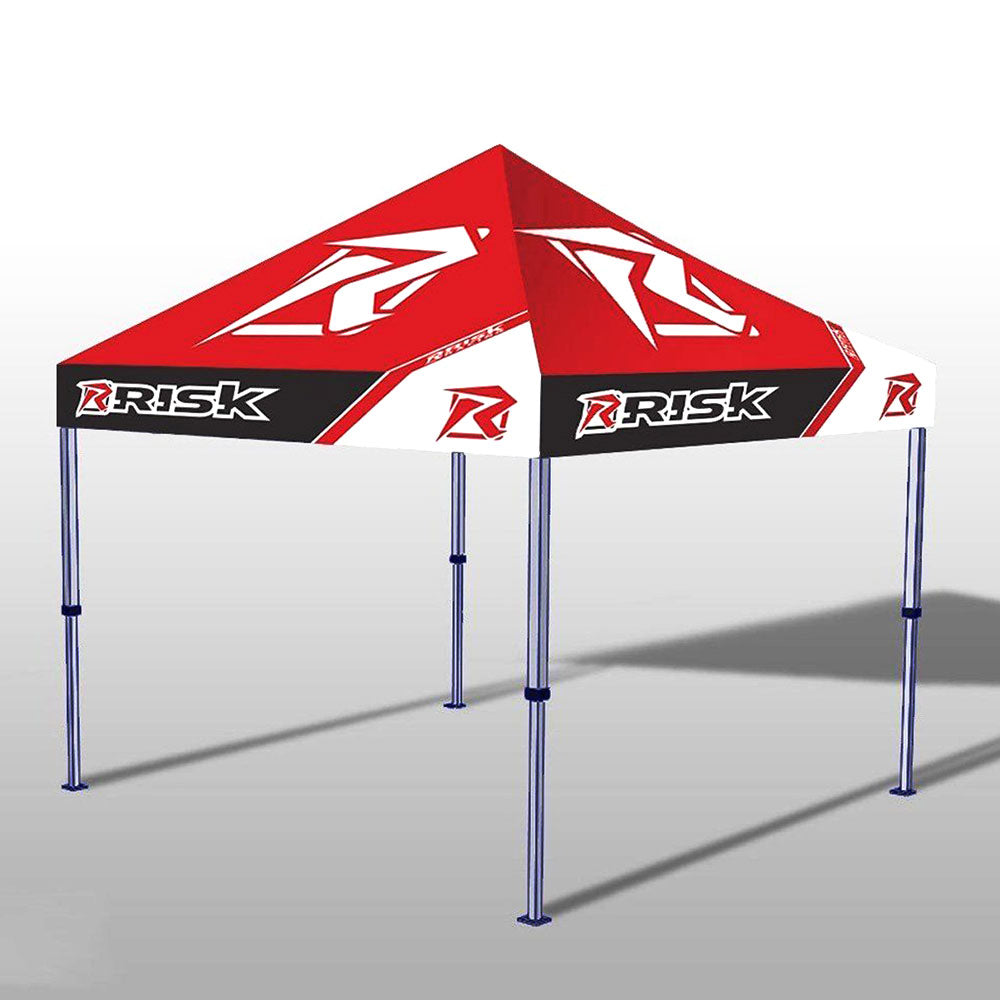 Risk Racing Factory Pit Tent - Rugged pit tent canopy