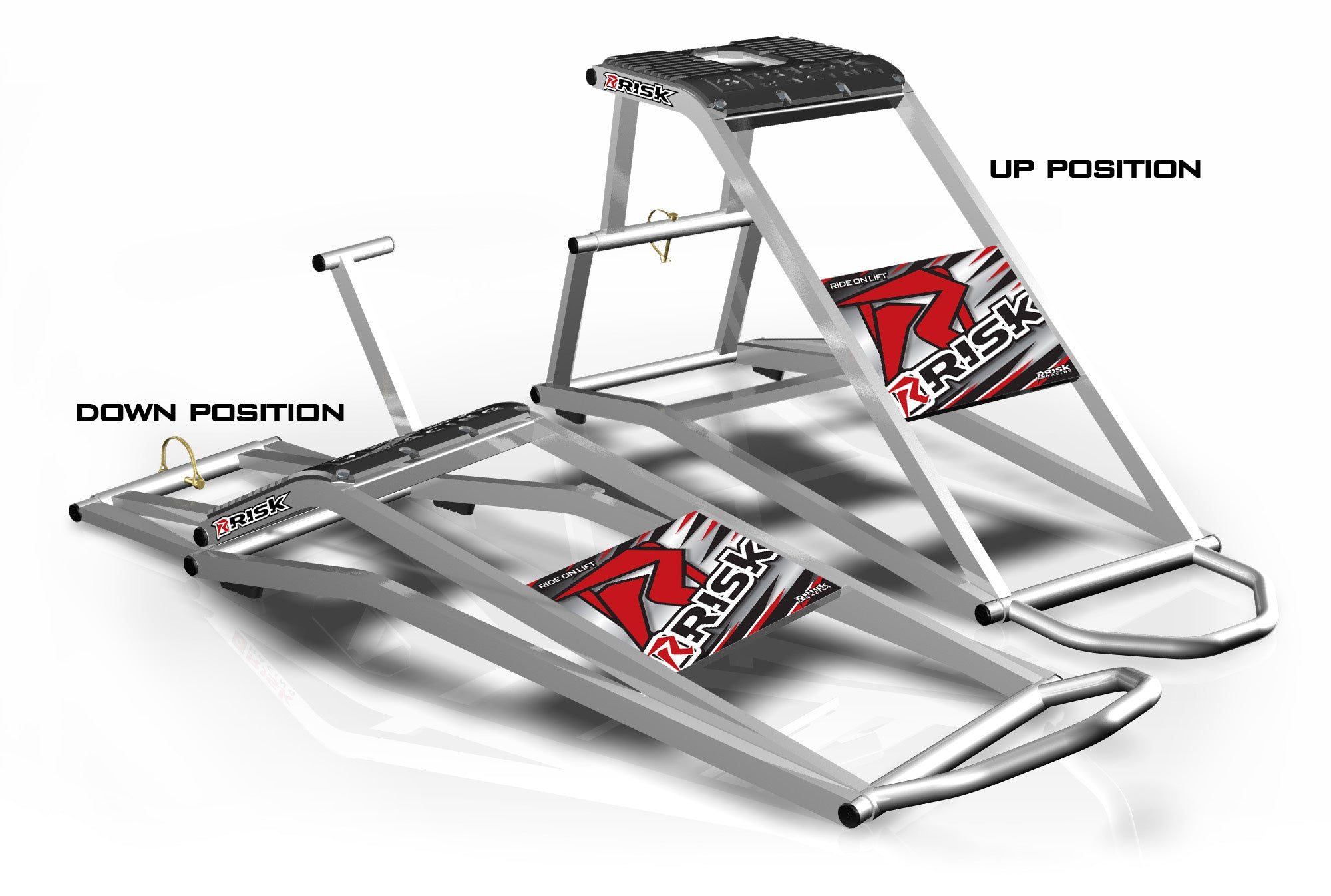 RR1 Ride-On Lift Stand by RISK