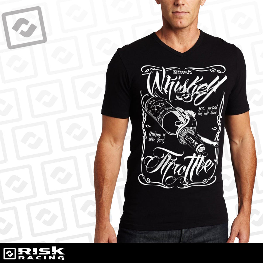 Risk Racing 00326 Whiskey Throttle T-Shirt 2X-Large