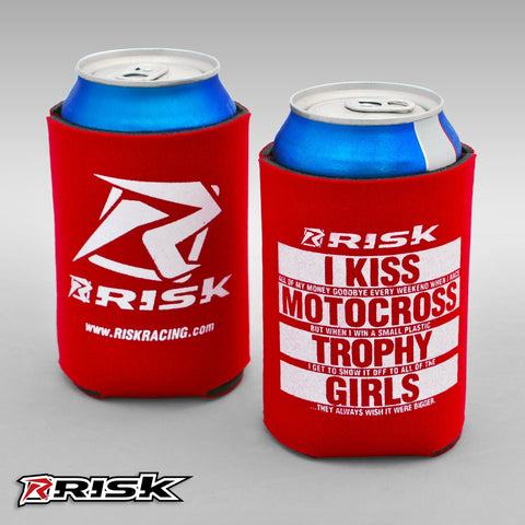 Risk Motocross Koozie