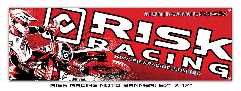 Risk Racing Motocross Banner