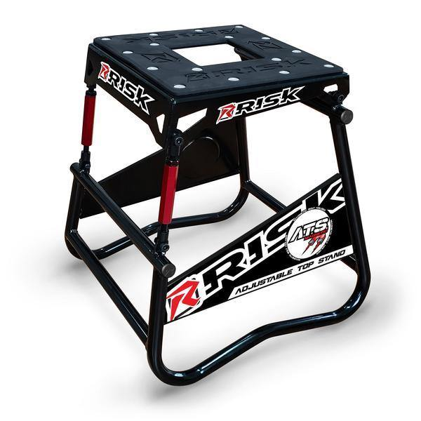 Risk Racing ATS - Adjustable Top Leveling Moto Stand