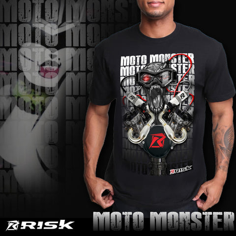 Moto Monster T Shirt