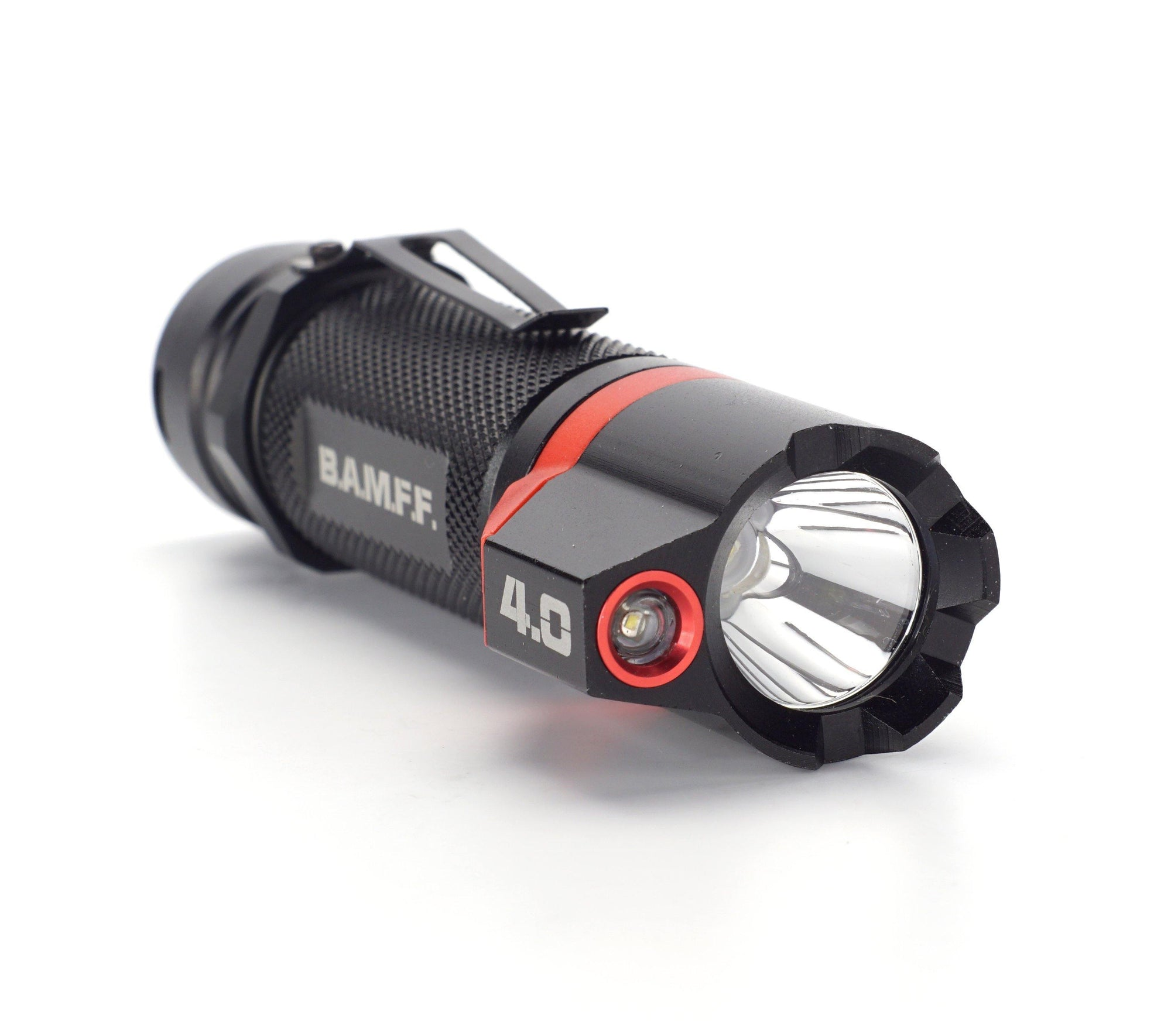 BAMFF 4.0 dual LED flashlight long distance and area lighting in one | STKR Concepts - striker flashlight