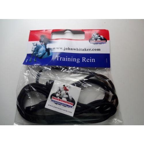 John Whitaker Elasticated Training Rein Bungee Happy Tackers
