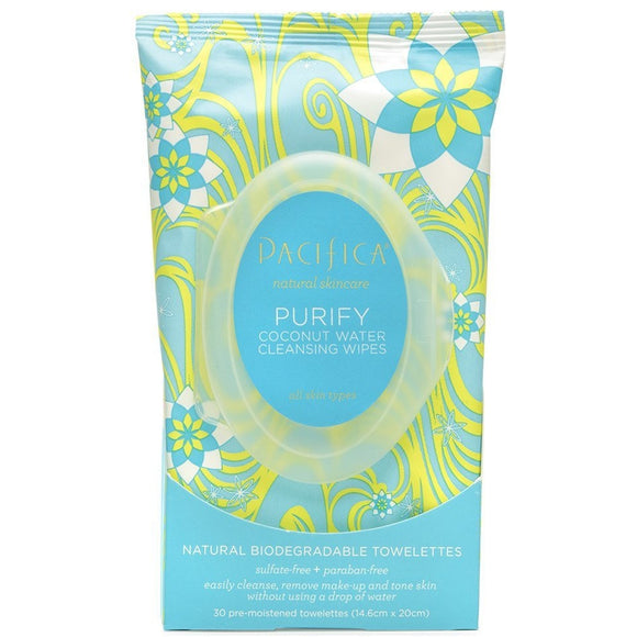 Purity Coconut Water Cleansing Wipes