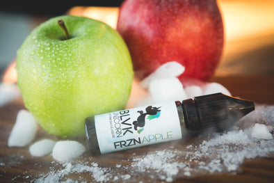 A Frozen Apple a day will keep your worries away as the taste of crisp red and green apples collide with a menthol...