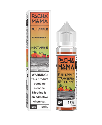 Pachamama by Charlie's Chalk Dust is a Fuji apple, strawberry, and nectarine flavor that is delicious enough to be an all day vape!