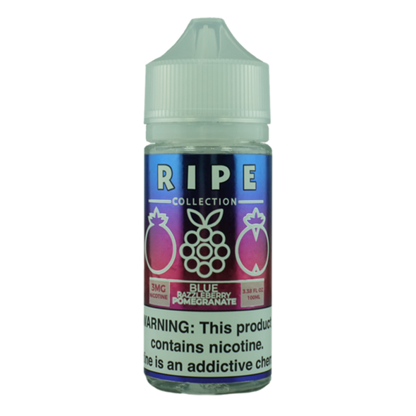 Blue Razzleberry Pomegranate by Vape 100 Ripe Collection