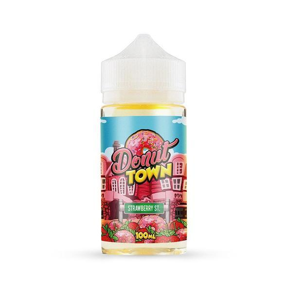 Strawberry St. Nic Salt By Donut Town