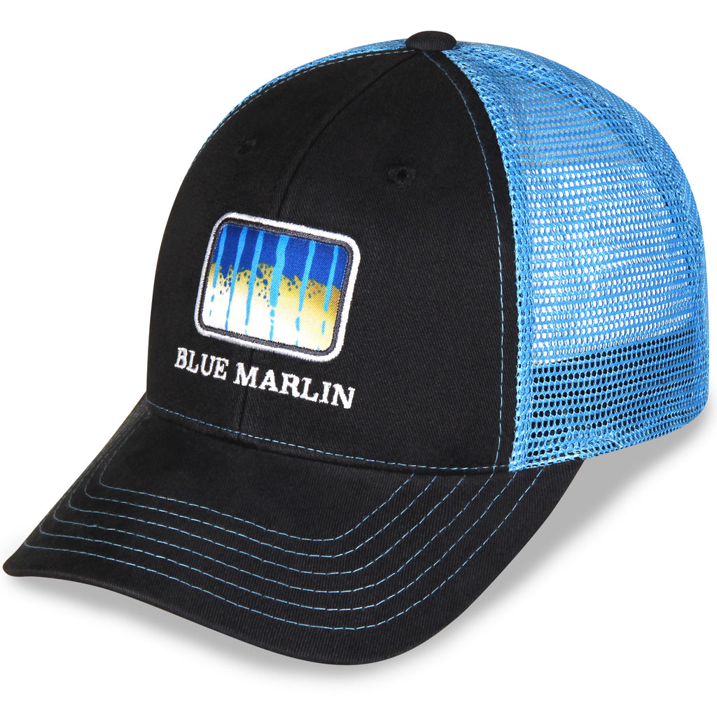 f3bec6db89660 Gills-N-Game Blue Marlin Scale Hat