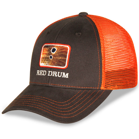 bf11f846e905b Gills-N-Game Blue Marlin Scale Hat. Regular price  14.99. View. Red Drum  Patch Brown and Orange Fish Hat in Twill and Mesh Fish