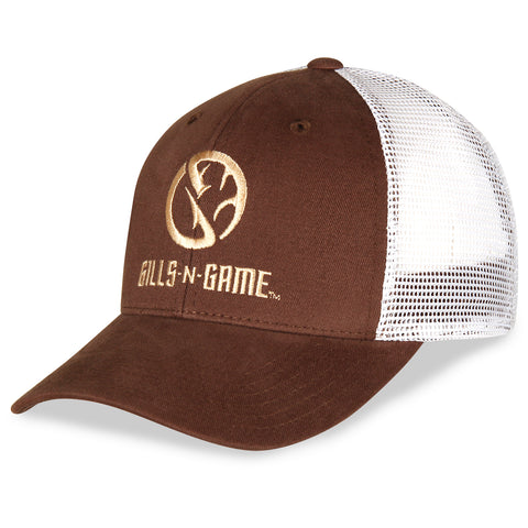 Gills-N-Game Cooper Twill with Mesh Back Hat