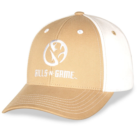 Gills-N-Game Tan Twill Hat