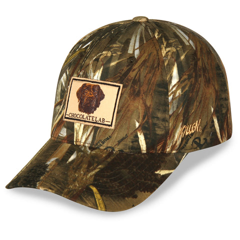 True Timber Chocolate Lab Patch Hat with Velcro Closure