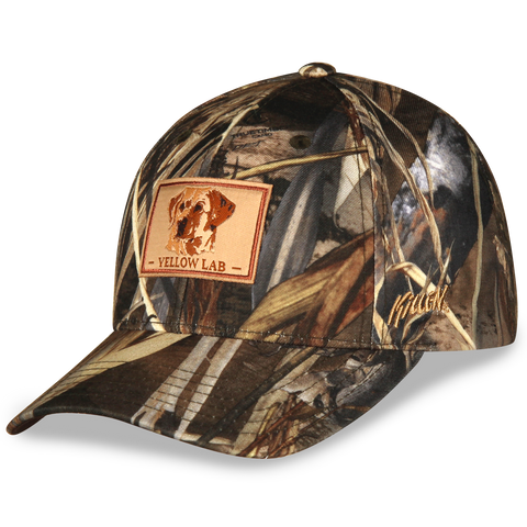 True Timber Camouflage Yellow Labrador Retriever Hat