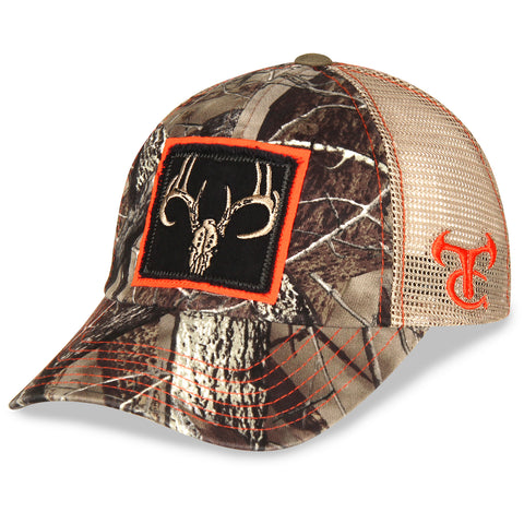 Whitetail Deer True Timber Twill and Mesh Hat