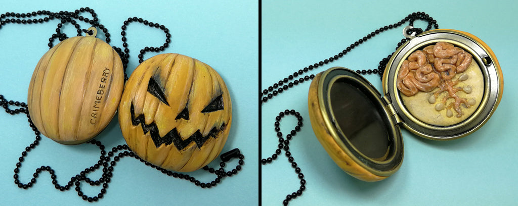 jackolantern locket brains