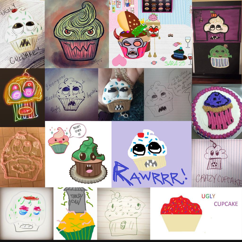 Ugly Cupcake Contest