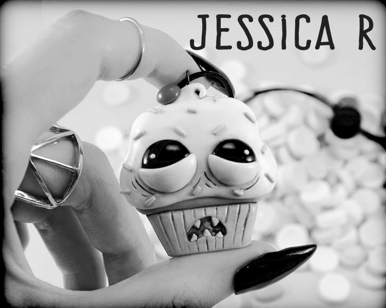 Winner of  the Ugly Cupcake Necklace, Jessica R