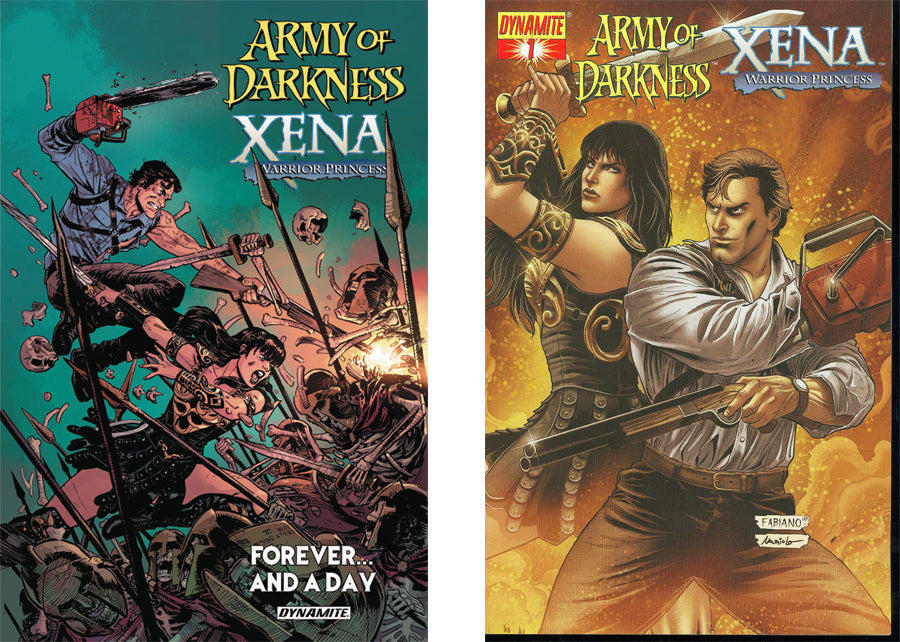 army of darkness xena crossover comics