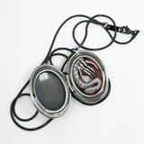 Alien Locket Necklace in Flesh