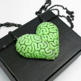 Brainy BFF Necklace Set in Monster Blood Green
