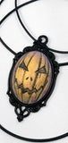orange pumpkin necklace pinterst
