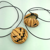 Jacko Locket Necklace in Orange