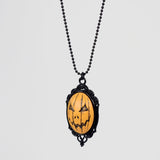 Jacko Cameo Necklace Orange