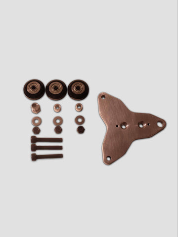 Three Wheel Carriage Plate Kit