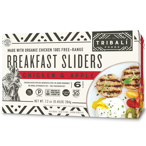 Chicken & Apple Breakfast Sliders - Single Box
