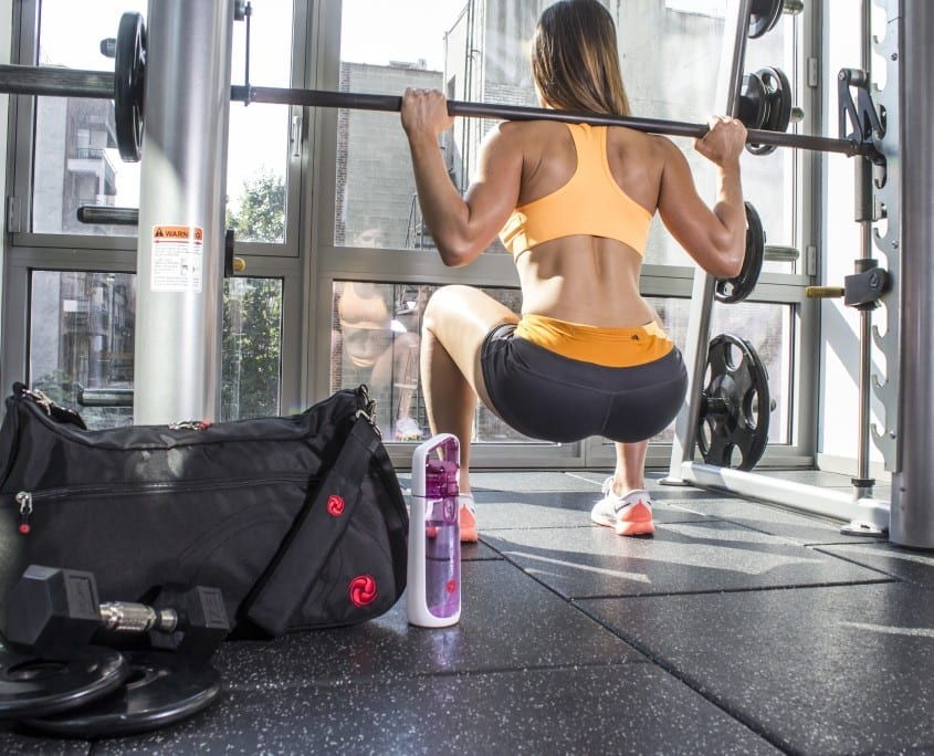 LIVE WELL 360 CORE FITNESS BAG and SHAKER WATER BOTTLE